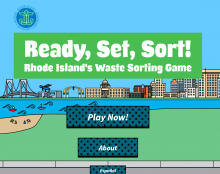 NEW! Waste Sorting Game