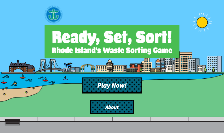 Screenshot for new Waste Sorting Game